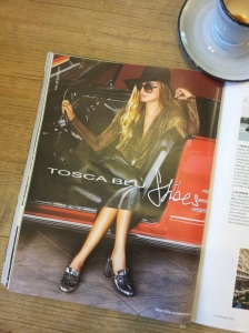 Italian shoes and leather look. I love this. Foto La Reppublica magazine