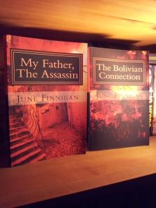 My current Books. Foto J Finnigan