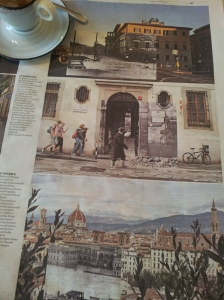Florence then and now. La Repubblica.