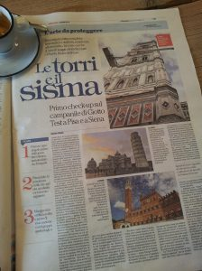Le Torre, the towers of Tuscany. La Repubblica.