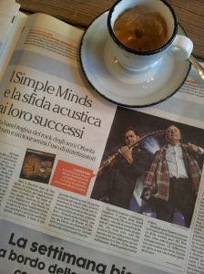 Simple Minds in Tuscany. La Repubblica.