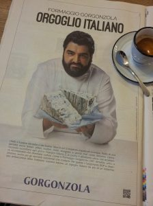 Chunky Hunk and Italian Gorgonzola. La Repubblica