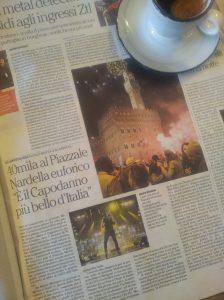 Capodanno in Florence La Nazione