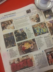 Local celebrations and the back up support for health and safety! la Repubblica