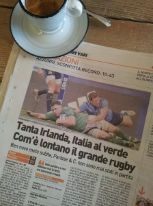 And another Irish try! Foto La Reppublica