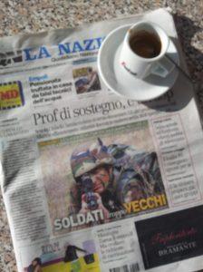 The aging Italian Military. Foto La Nazione