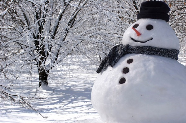 snowman-wallpaper