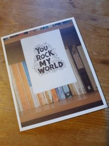 Rock My world card
